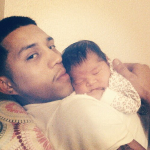 Brian & Mia , my loves<3 #GoodDaddy . (: (Taken with Instagram)