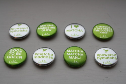 Our limited edition #matchamadness badges! Which one is your favourite?
