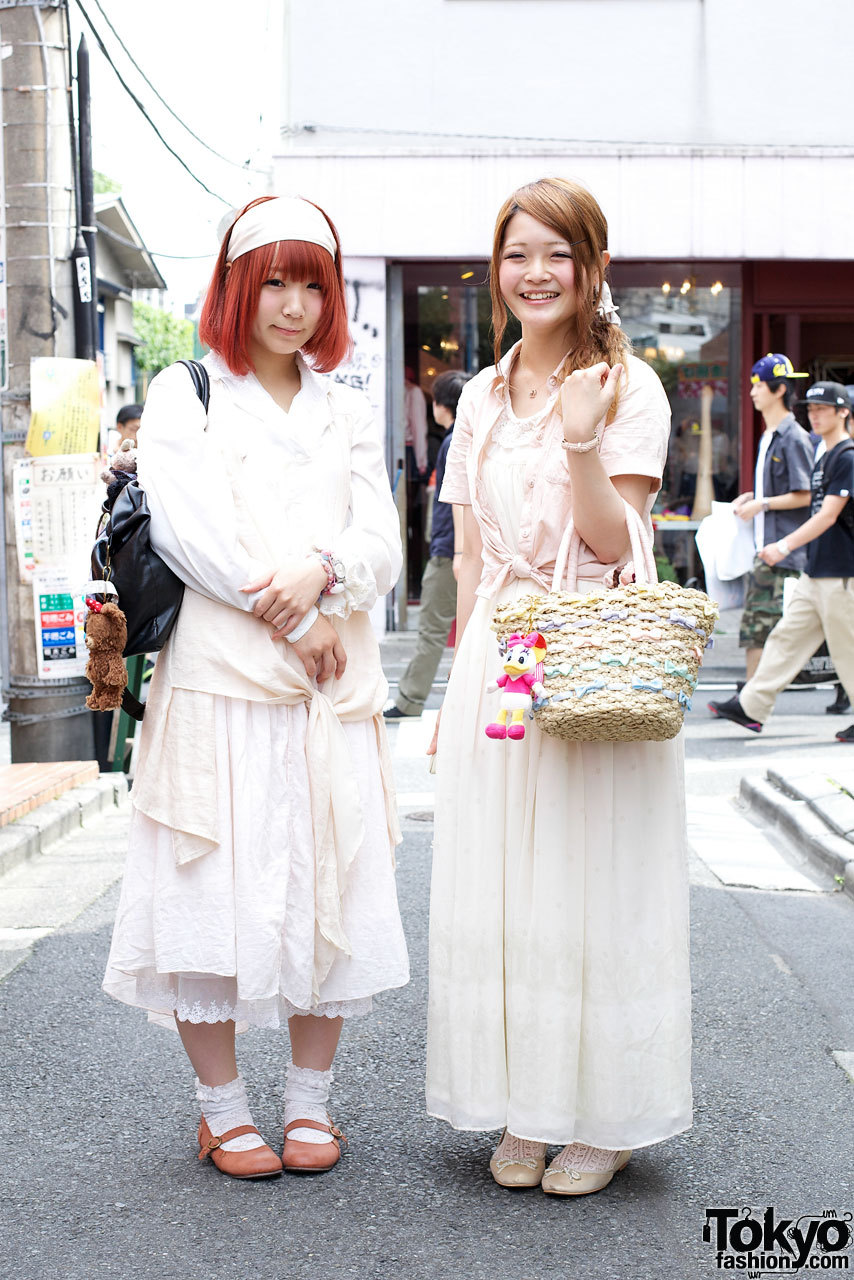 On the street in Harajuku x2 w/ WEGO, Gelato Pique, Wonder Rocket & Swimmer.