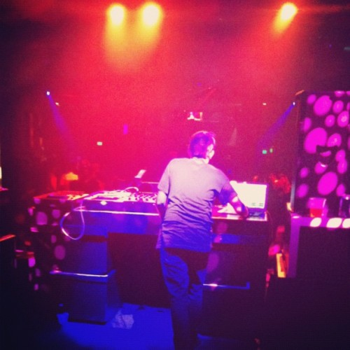 so umm @surkin is killing it tonight  (Taken with Instagram at Mezzanine)