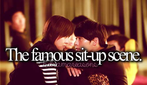 kdramareasons:  The famous sit-up scene.