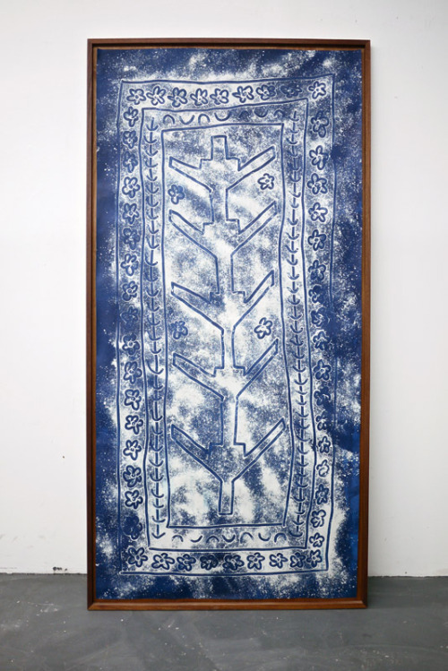 KATHLEEN RYAN, Cyanotypes