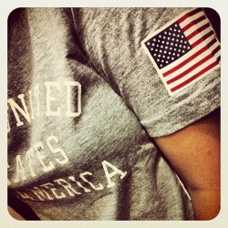 #USA 🇺🇸🇺🇸 #nike#flag#olympics2012  (Taken with Instagram)
