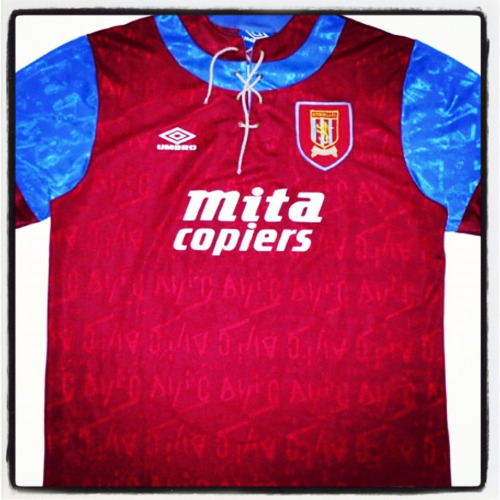 Aston Villa, Umbro, 1992/3