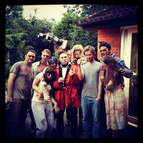 Spent all of last night as a zombie for a video filmed by Rob Luckins - was so messy and great fun can't wait to show you the final outcome xx