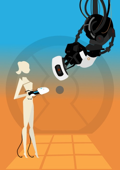 I ♥ Portal! (via: bearandrobot)