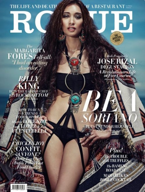 Bea Soriano for Rogue August 2012 ish.