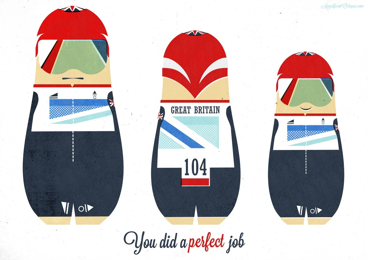 bicycleart:  You did a PERFECT job! by