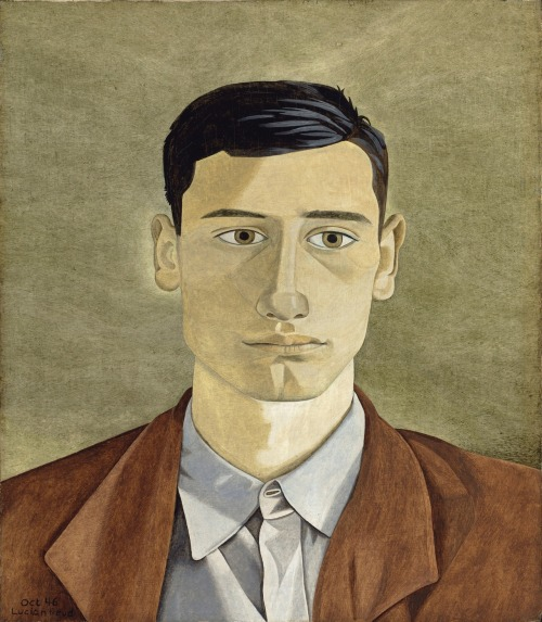 brazenswing:  Lucian Freud Head of a Greek Man 1946
