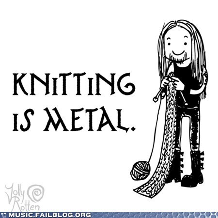 shovel-knockout:  isn't it  Especially when you use chainmail ;)