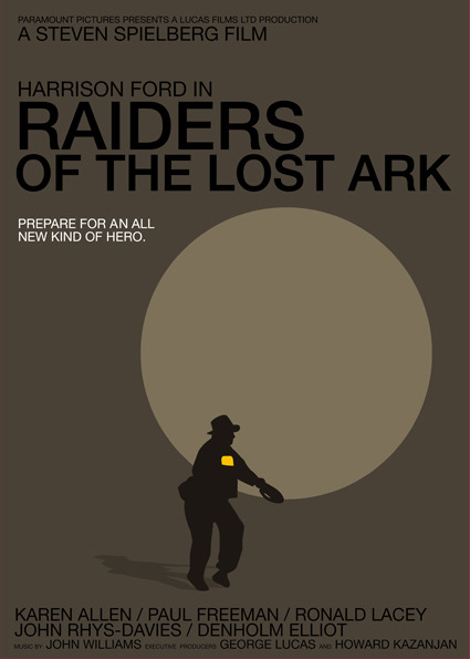 Raiders of the Lost Ark by Vasco Valentim