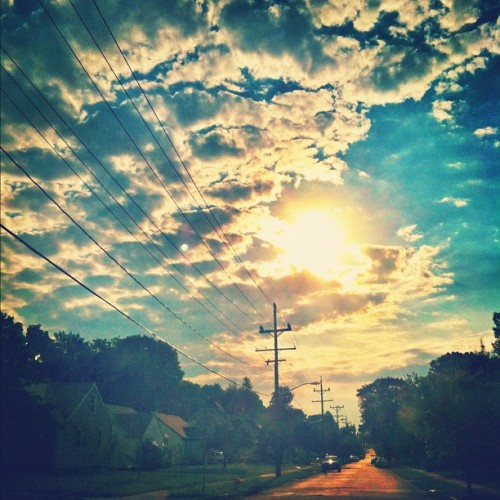 #friday #morning #drive in the #neighborhood (Taken with Instagram)