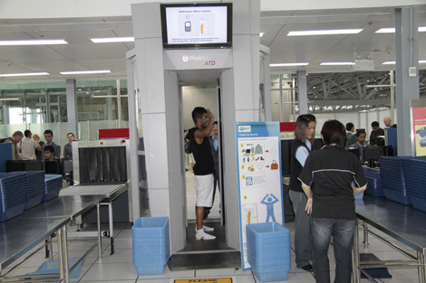 Bangkok airport introduces new body scanners