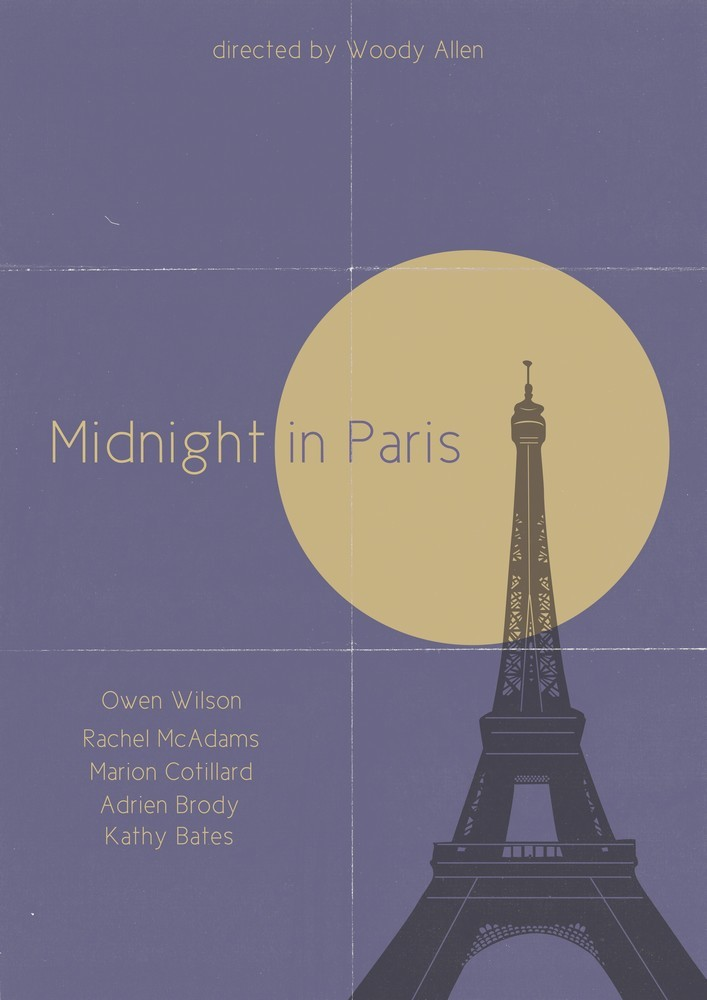 minimalmovieposters:  Midnight in Paris by Damien Wake