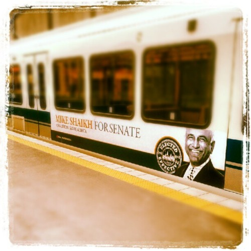 It's August.. Why do we still have election ads up in #yeg? (Taken with Instagram)
