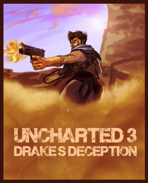 """Uncharted 3 - Nathan Drake"" by: s-Mebah"