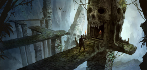 art-is-magical:  Skull Cave by *sandara