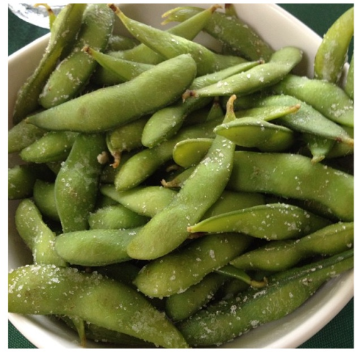 Edamame. Great appetizer choice!