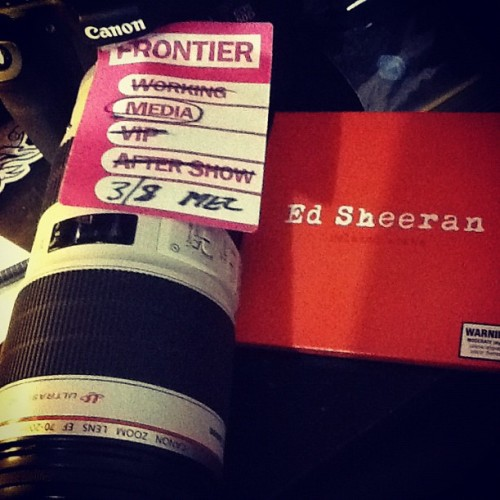 #goodthings #edsheeran (Taken with Instagram)