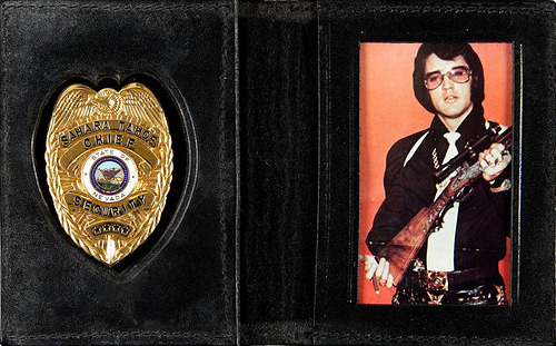 Elvis Tahoe Security Badge