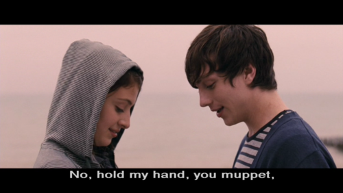 behindthesehazelmascaraeyes:  Angus Thongs and Perfect Snogging, omg what a film :'D