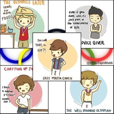 yerahz026:  One Direction in the Olympicsyerahz026.tumblr.com