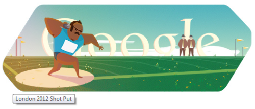 Google Doodle Marathon - Day 8: Shot Put Check out this amazing Google Doodle Museum! :D