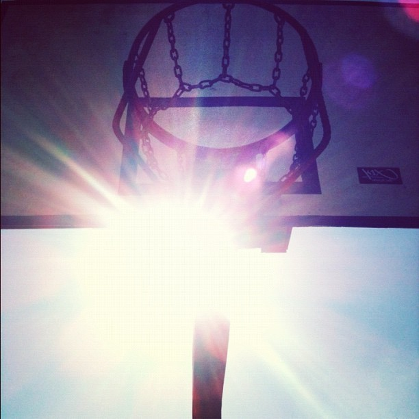 #basketball (Taken with Instagram at Quadra de Basquete)