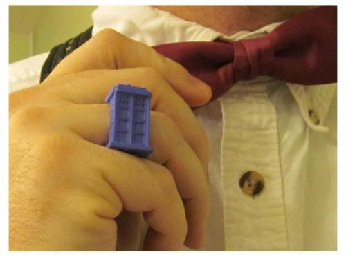shapeways:  Transcend Space and Time, In Style, On Your Finger