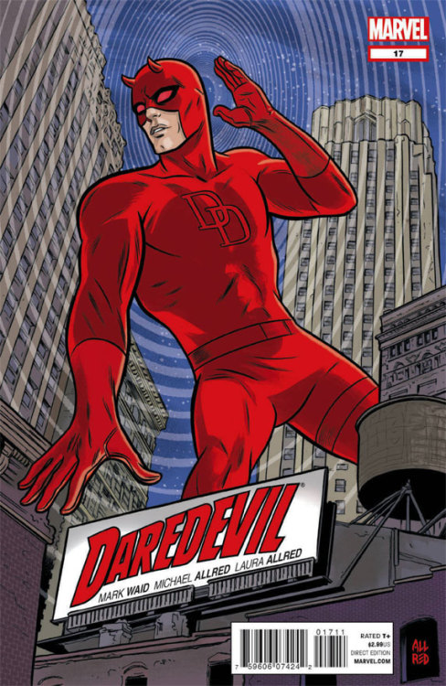 Just found out Mike Allred is doing an upcoming Daredevil issue