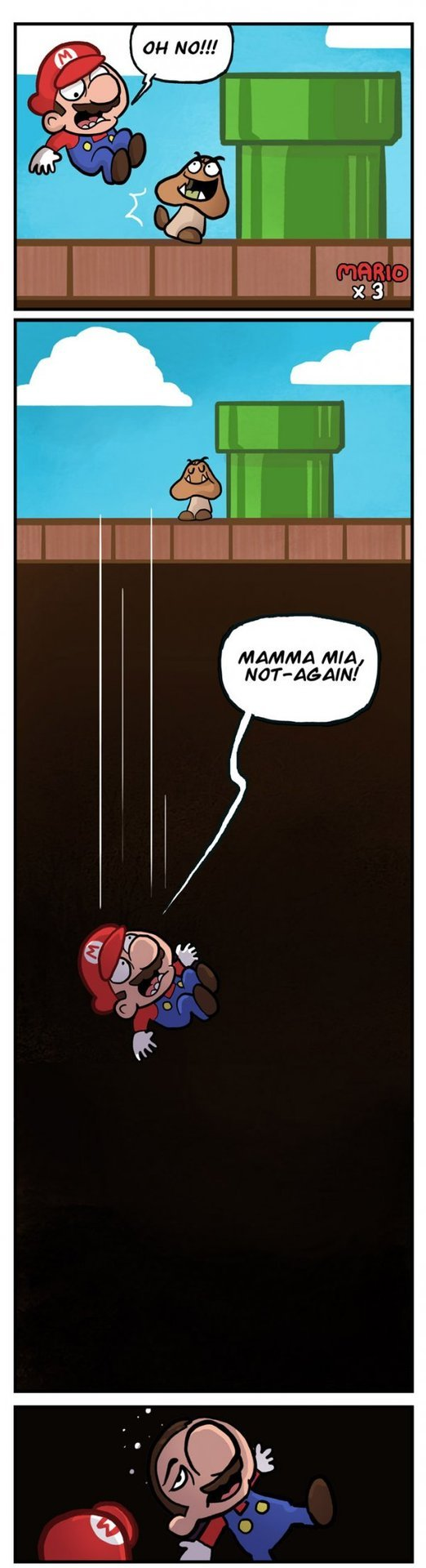 dorkly:  Mario's Horrible Secret [click to see the rest]
