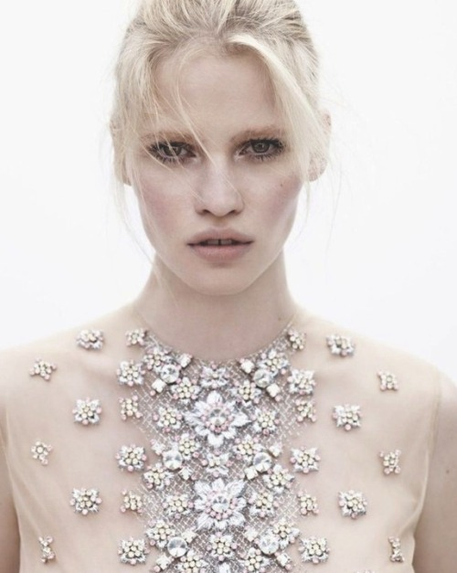 Lara stone in Vogue Netherlands by Josh Olins