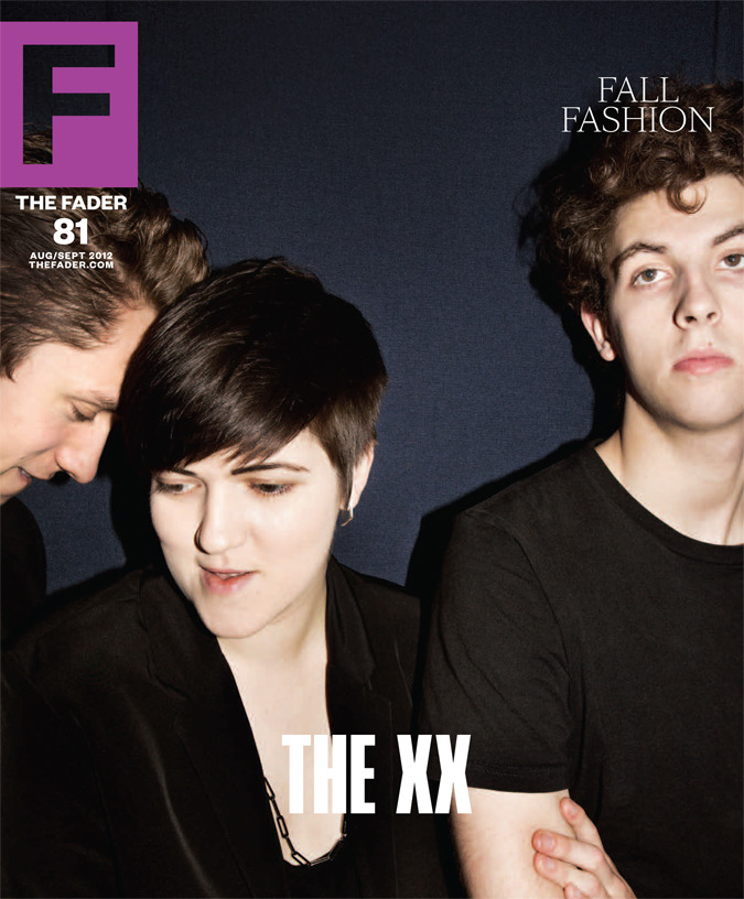 thefader:  WORLD PREMIERE! FADER #81 COVER: THE XX