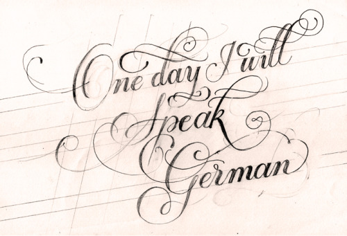 One day I will Speak German