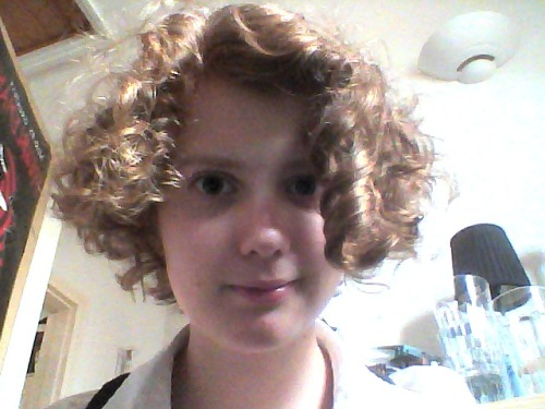 Curls! (aka new haircut)