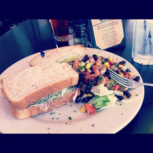 Yesterday's lunch at hungry's … Dope (Taken with Instagram at Hungry's Cafe & Bistro)