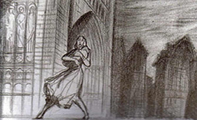The Hunchback of Notre Dame (1996) - Storyboards & Layouts