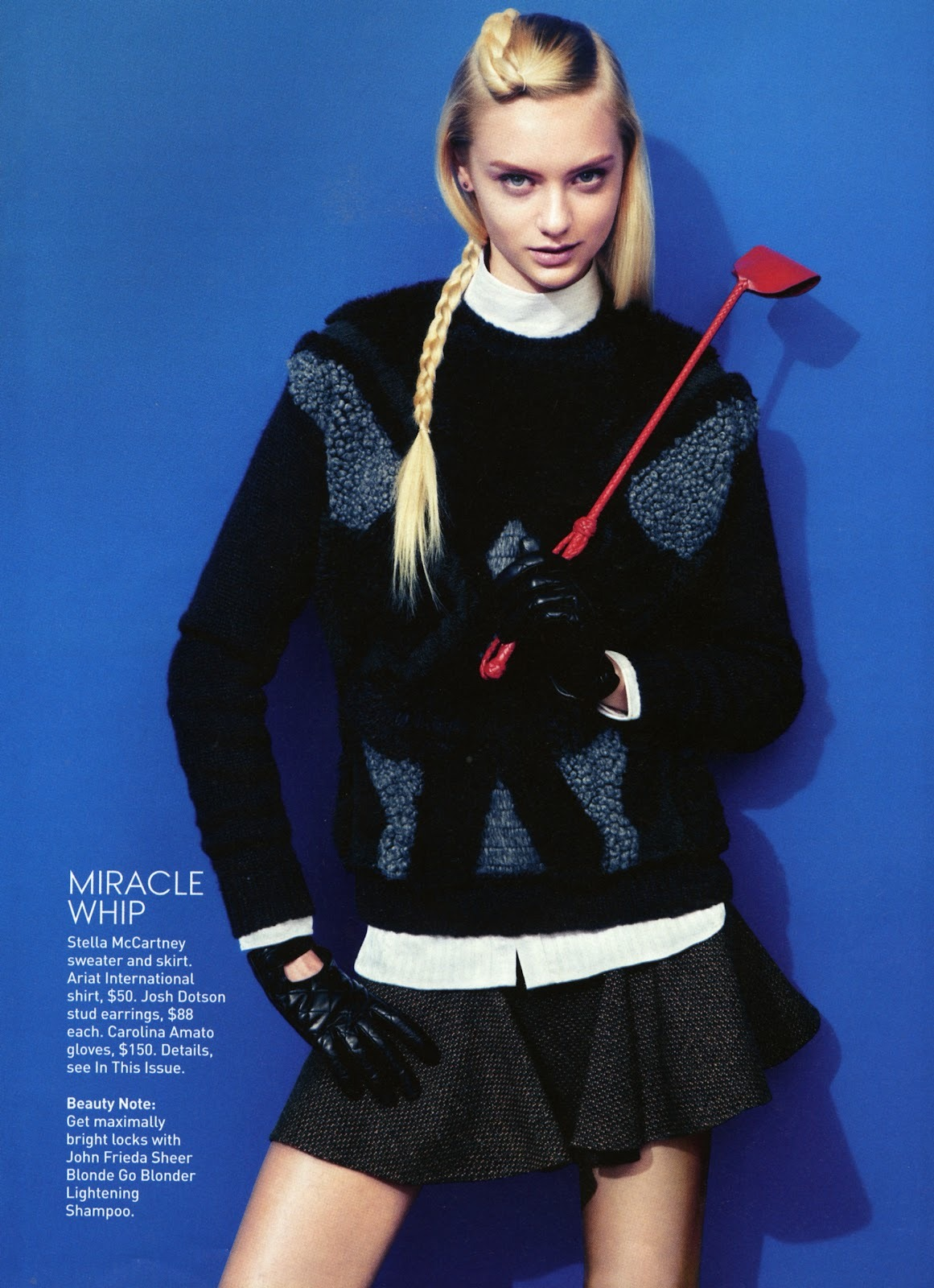 Nastya Kusakina by Sebastian Kim for Teen Vogue September 2012
