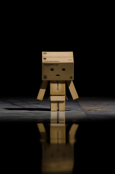 fuckyeahphotography:  Losing Yourself  Yotsuba is awesome, this boxbot is dope