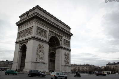 Arc de Triomphe (by gcarrara_paris)