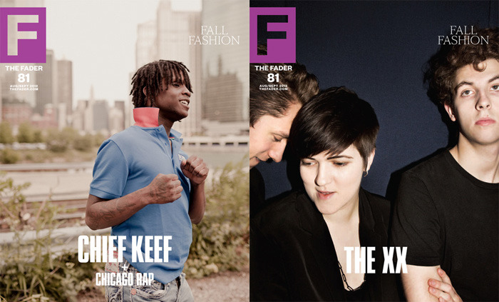 My first covers as photo editor of The FADER are live this morning, Daniel Shea (left) and Jason Nocito (right).