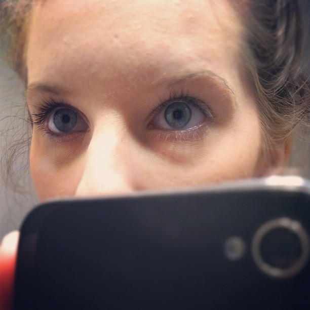 #contacts feel so weird (Taken with Instagram)
