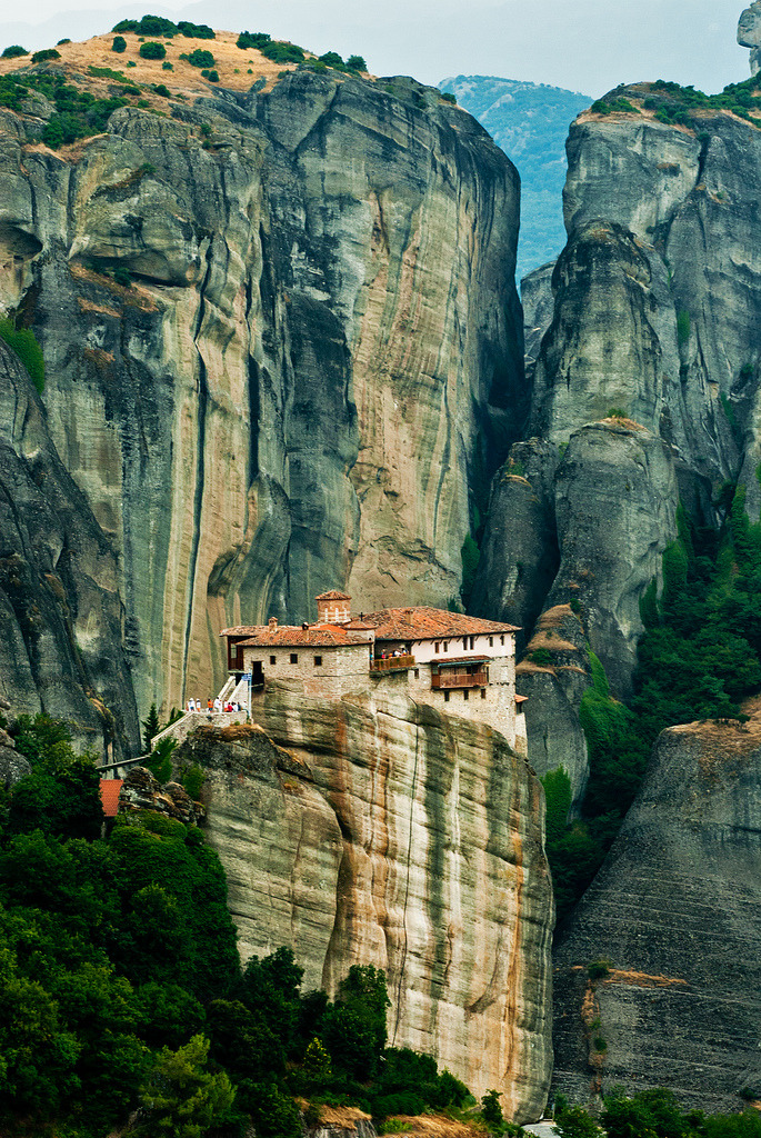 allthingseurope:  Meteora, Greece (by Thanassis Fournarakos)