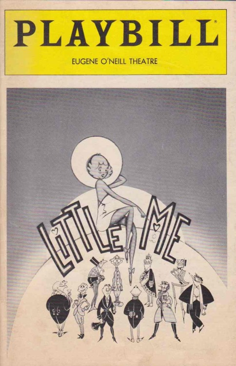 Little Me revival, Eugene O'Neill Theatre - January 21, 1982.