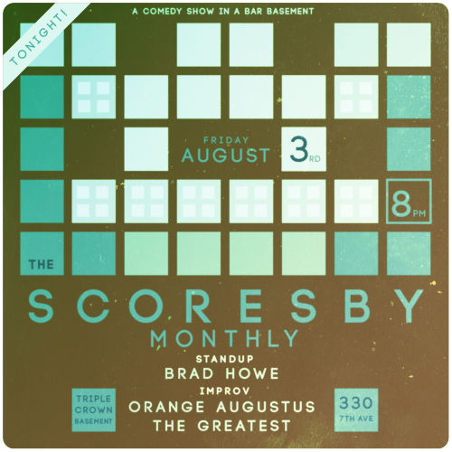 rocketghost:  Scoresby Monthly show tonight!