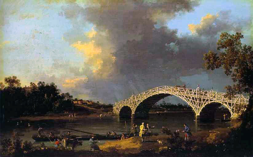 Giovanni Canaletto - Old Walton Bridge
