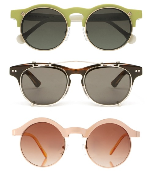 dapperdean:  Carven flip-up sunglasses at net-a-porter.com Illesteva sunglasses at Opening Ceremony Asos keyhole sunglasses at Asos.com