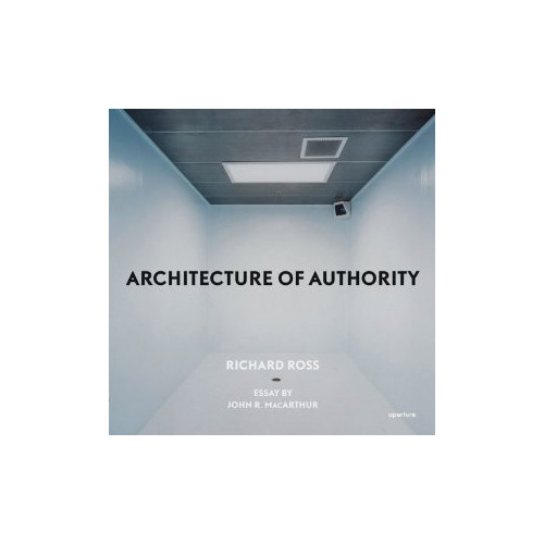 "Richard Ross: Architecture of Authority by John MacArthur & Richard Ross For the past several years—and with seemingly limitless access—photographer Richard Ross has been making unsettling and thought-provoking pictures of architectural spaces that exert power over the individuals within them. From a Montessori preschool to churches, mosques and diverse civic spaces including a Swedish courtroom, the Iraqi National Assembly hall and the United Nations, the images in Architecture of Authority build to ever harsher manifestations of power: an interrogation room at Guantanamo, segregation cells at Abu Ghraib, and finally, a capital punishment death chamber.  Though visually cool, this work deals with hot-button issues—from the surveillance that increasingly intrudes on post-9/11 life to the abuse of power and the erosion of individual liberty. The connections among the various architectures are striking, as Ross points out: ""The Santa Barbara Mission confessional and the LAPD robbery homicide interrogation rooms are the same intimate proportions. Both are made to solicit a confession in exchange for some form of redemption."" Essay by Harper's Magazine publisher, John R. MacArthur, also a columnist for the Toronto Globe and Mail."