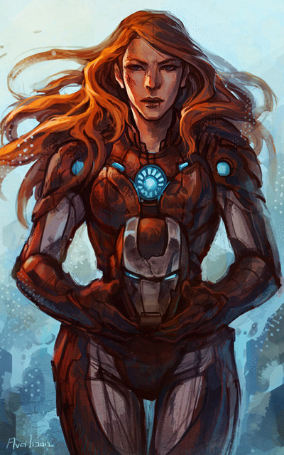 "Comics Crux Approved- ""Pepper Potts"" by ladyavali"