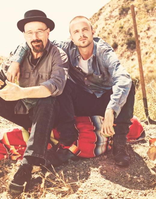 Bryan Cranston and Aaron Paul for Rolling Stone